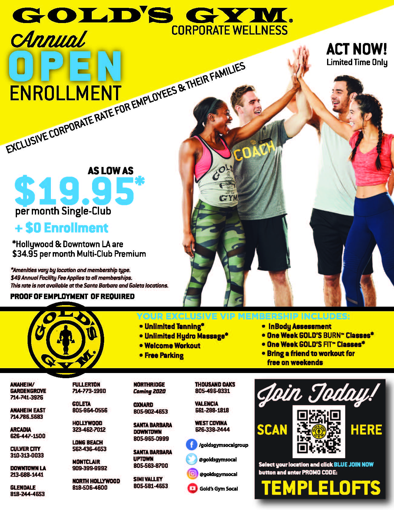 Gold's Gym 1